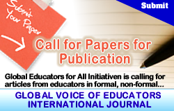 Call for Papers for Publication